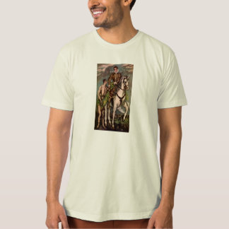 El Greco's Saint Martin and the Beggar, circa 1600 T-Shirt