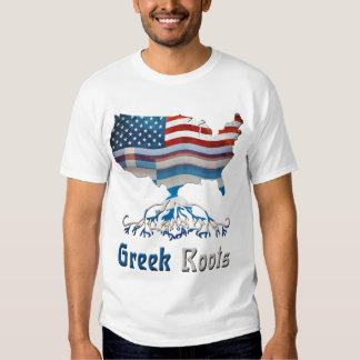 El Griego americano arraiga las camisetas de los Remeras