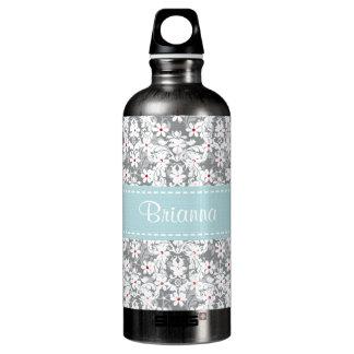 El gris azul BPA de la margarita floral libera
