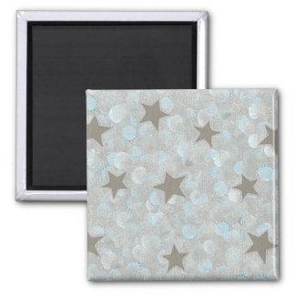 El gris azul burbujea y la plata protagoniza los i iman para frigorífico