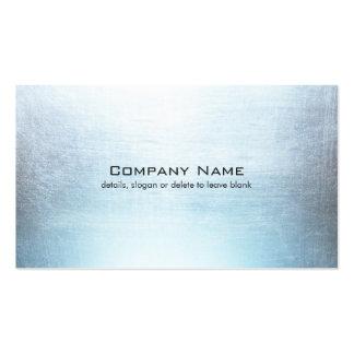 El gris azul simple cepilló la tarjeta de visita