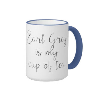 El gris del conde es mi taza de amantes del té del