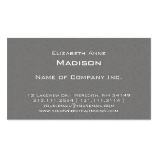 El gris elegante texturizó la obra clásica centrad plantillas de tarjetas personales