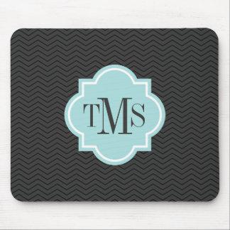 El gris elegante y el trullo 3 ponen letras al tapetes de ratón