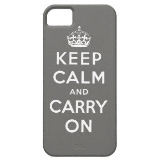 El gris mantiene tranquilo y continúa el caso del funda para iPhone SE/5/5s