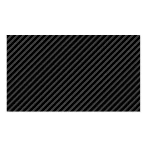 El gris negro elegante elegante raya perfil tarjetas de visita