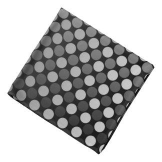 El gris se descolora pañuelo de la banda del pelo bandanas