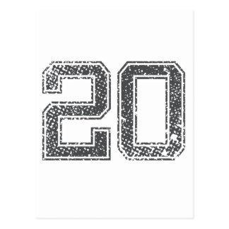 El gris se divierte el jersey #20 postales