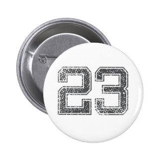 El gris se divierte el jersey #23 pins