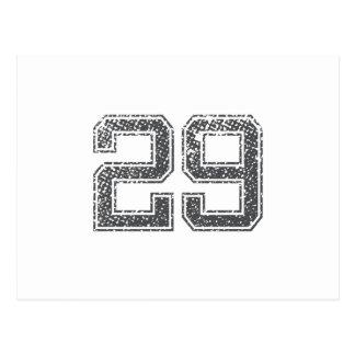 El gris se divierte el jersey #29 tarjeta postal