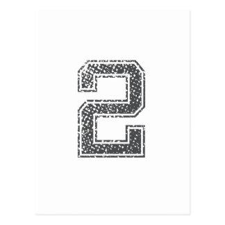 El gris se divierte el jersey #2 tarjetas postales