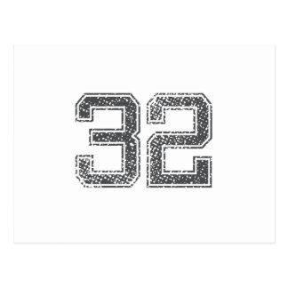 El gris se divierte el jersey #32 postales