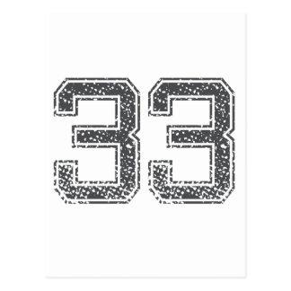 El gris se divierte el jersey #33 postales