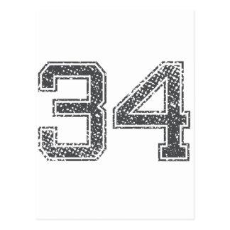 El gris se divierte el jersey #34 postales
