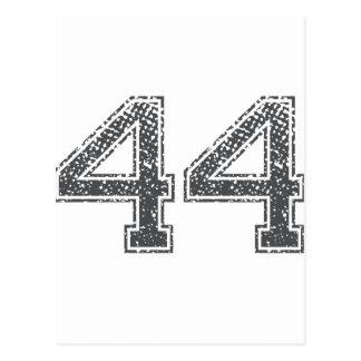 El gris se divierte el jersey #44 tarjetas postales