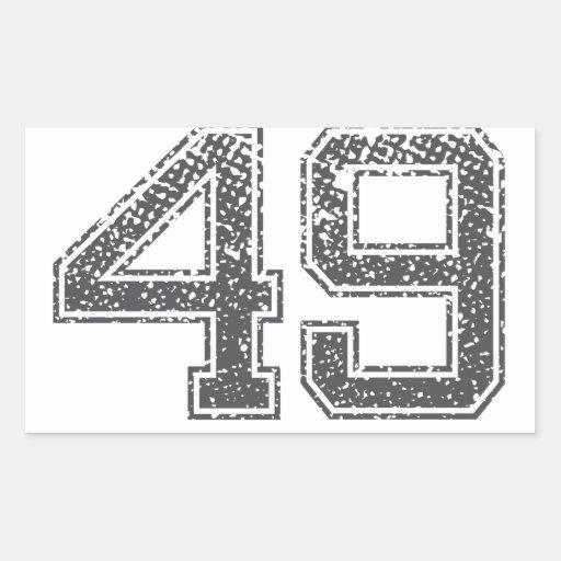 El gris se divierte el jersey #49 rectangular altavoz