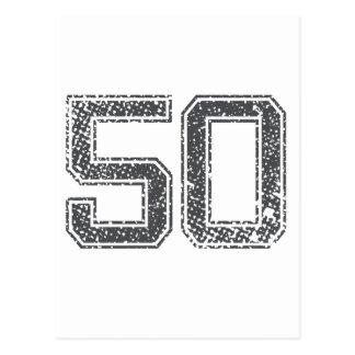 El gris se divierte el jersey #50 postales