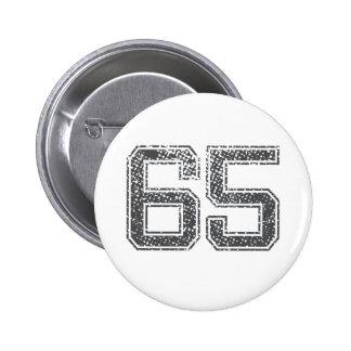 El gris se divierte el jersey #65 pin