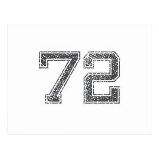El gris se divierte el jersey #72 postales