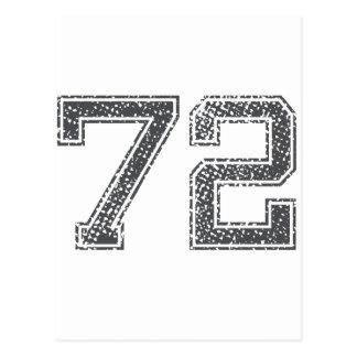 El gris se divierte el jersey #72 postal