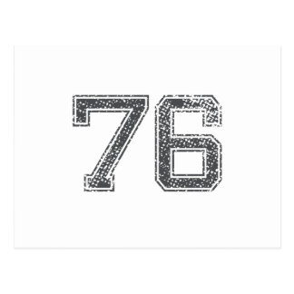 El gris se divierte el jersey #76 tarjeta postal