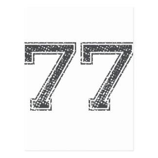 El gris se divierte el jersey #77 postales
