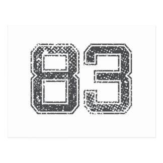 El gris se divierte el jersey #83 postales