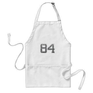 El gris se divierte el jersey #84 delantal