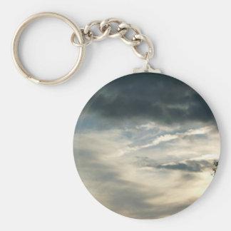 El gris se nubla llavero
