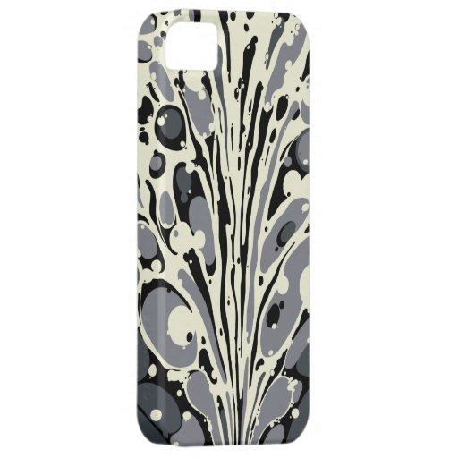 El gris veteó la caja del iPhone iPhone 5 Carcasa