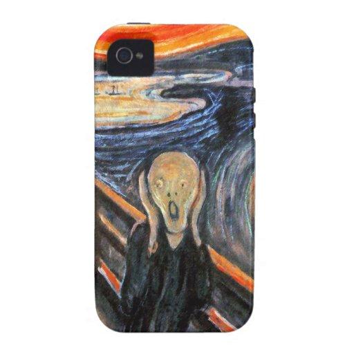 El grito cerca masca: Caso del iPhone 4 de la Case-Mate iPhone 4 Funda