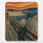 El grito de Edvard Munch Alfombrilla De Ratones