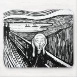 El grito de Edvard Munch Alfombrillas De Ratones