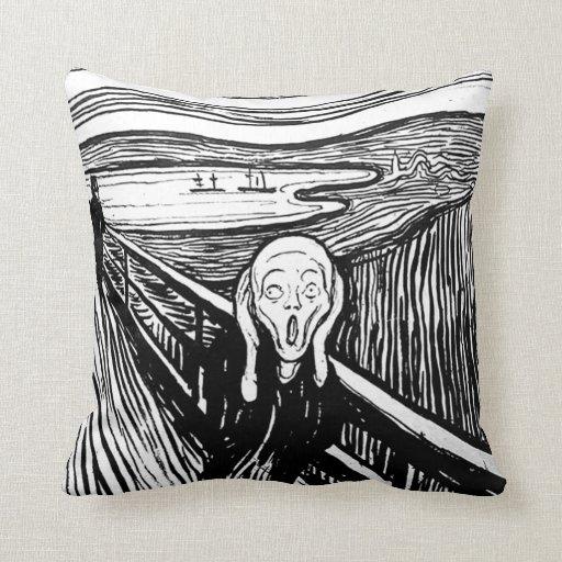 El grito de Edvard Munch Almohada