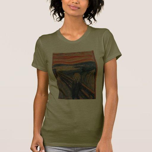 El grito de Edvard Munch Camiseta