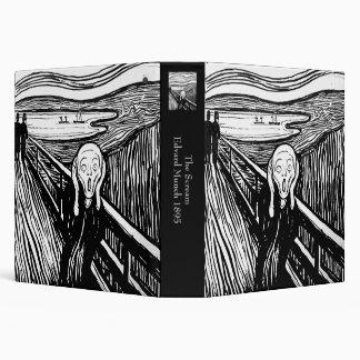 "El grito de Edvard Munch Carpeta 1 1/2"""
