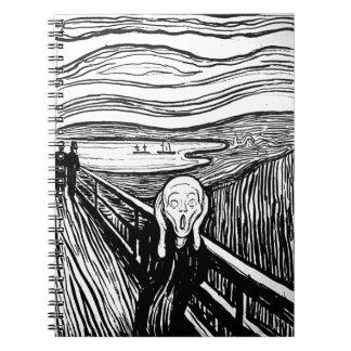El grito de Edvard Munch Libretas