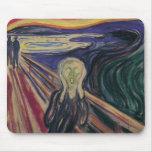 El grito de Edvard Munch, expresionismo del Tapete De Raton
