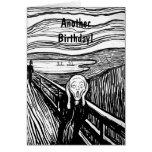 El grito de Edvard Munch Felicitaciones