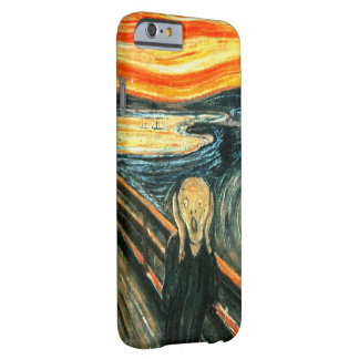 El grito de Edvard Munch Funda Barely There iPhone 6