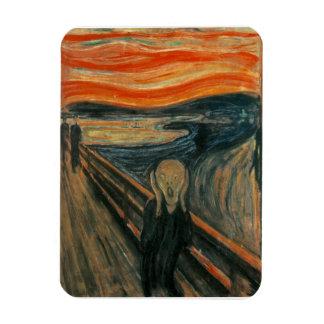El grito de Edvard Munch Imán