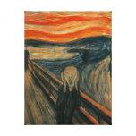 El grito de Edvard Munch Impresiones En Lienzo Estiradas