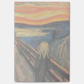 El grito de Edvard Munch Nota Post-it®