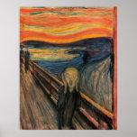 El grito de Edvard Munch Poster
