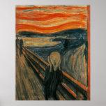 El grito de Edvard Munch Posters