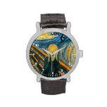 El grito de Edvard Munch Reloj