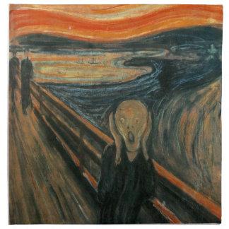 El grito de Edvard Munch Servilletas De Papel
