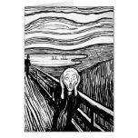 El grito de Edvard Munch Tarjetas