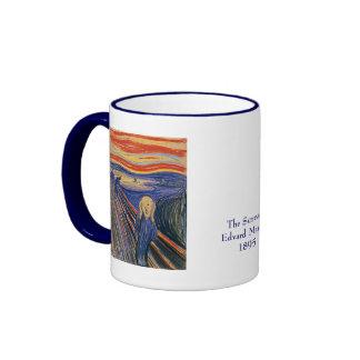 El grito de Edvard Munch Taza A Dos Colores