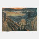 El grito de Edvard Munch Toallas De Mano